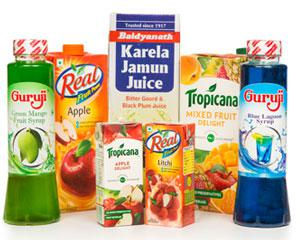Juices, Concentrates & Fragrant Water