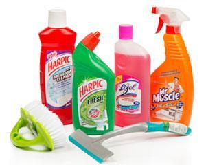 Toileteries & Cleaning