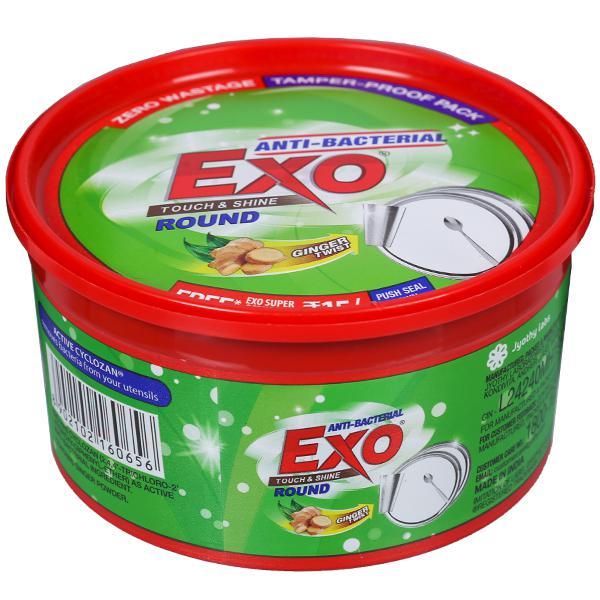 Exo Touch & Shine Dish Wash Bar (Free Scrubber) 700 g