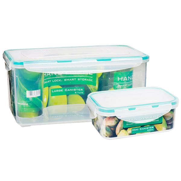 Handyware Large Canister (Free Mini Canister 500 ml) 5.1 L