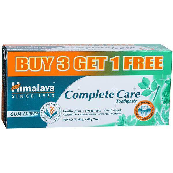 Himalaya Complete Care Toothpaste (Buy 3 Get 1 Free) 4 x 80 g