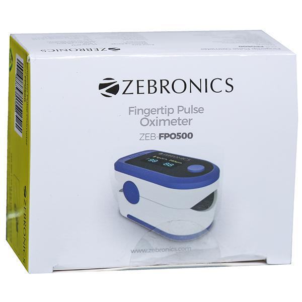 Pulse Oximeter (Zebronics) ZEBFPO500 Device