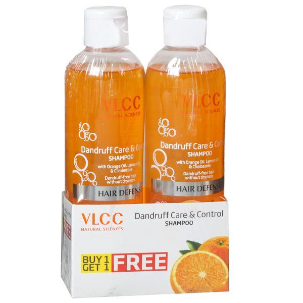 Vlcc Dandruff Care & Control Shampoo (Buy 1 Get 1 Free) 2 x 350 ml
